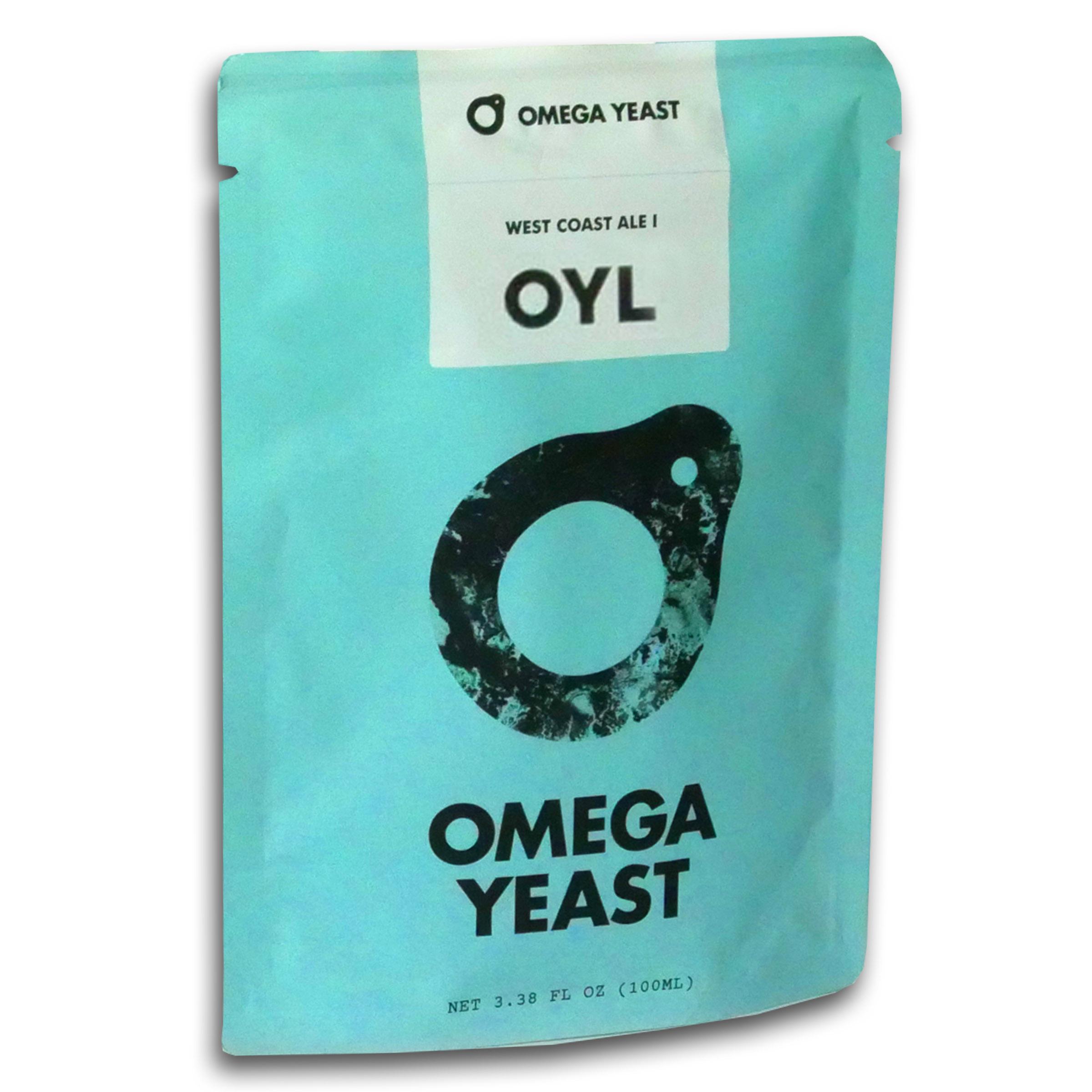 Omega Beer Yeast, Hefeweizen Ale I, 021-0