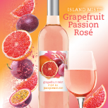 Island Mist Wine Kit: Grapefruit Passion Rose-0