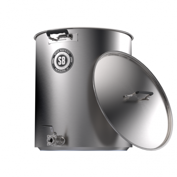 Spike Brewing Kettle V4, 15 Gallon, One Coupler-0