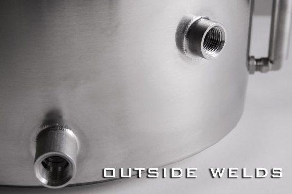 Spike Brewing Kettle V4, 10 Gallon, One Coupler-127012