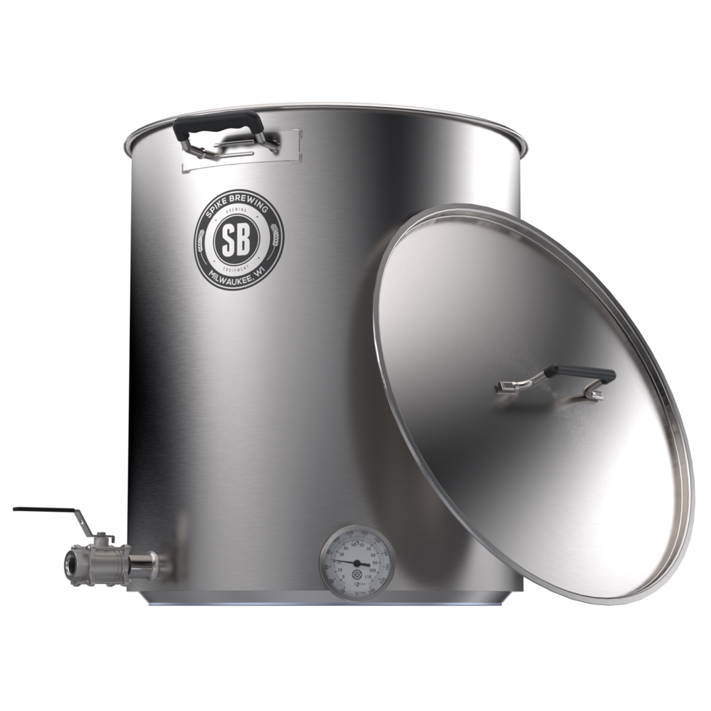 Spike Brewing Kettle V4, 10 Gallon, Two Horizontal Coupler-0