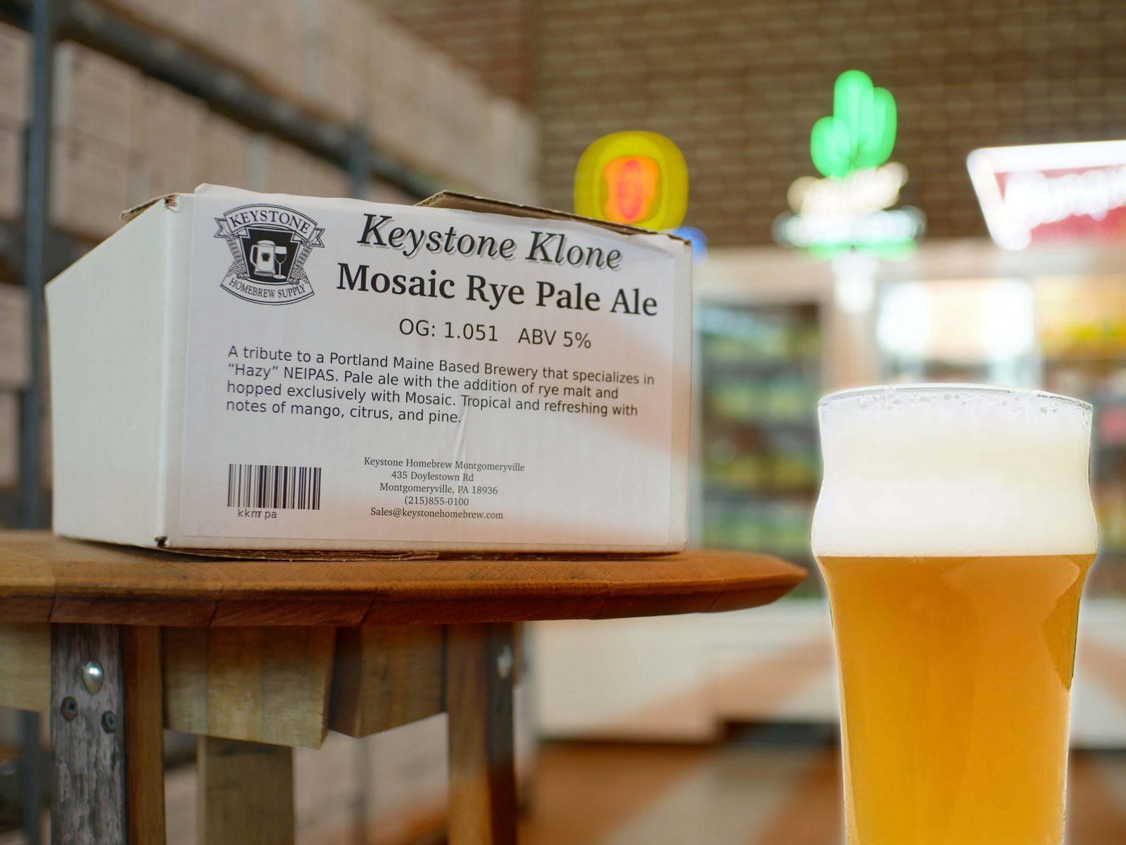 Mosaic Rye Box Kit